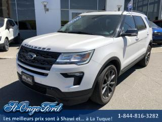 Used 2018 Ford Explorer XLT, 4WD 7 passagers for sale in Shawinigan, QC
