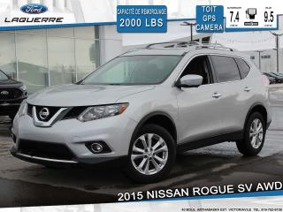 Used 2015 Nissan Rogue Sv Awd Toit Gps for sale in Victoriaville, QC