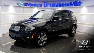 Used 2011 BMW X5 50i X-DRIVE + M PACK + GARANTIE+ 7 PASSA for sale in Drummondville, QC