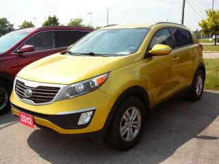 Used 2012 Kia Sportage LX for sale in Georgetown, ON