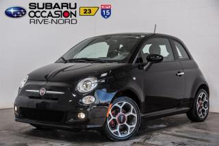 Used 2016 Fiat 500 Sport for sale in Boisbriand, QC