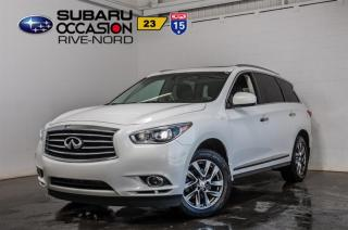 Used 2013 Infiniti JX35 AWD CUIR+TOIT.OUVRAN for sale in Boisbriand, QC