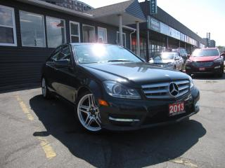 Used 2013 Mercedes-Benz C-Class C350 4MATIC Sport ....... GPS NAVIGATION,SUNROOF,  HEATED SEATS, BACK UP CAMERA, LEATHER SEATS, WOODGRAIN INTERIOR for sale in Scarborough, ON
