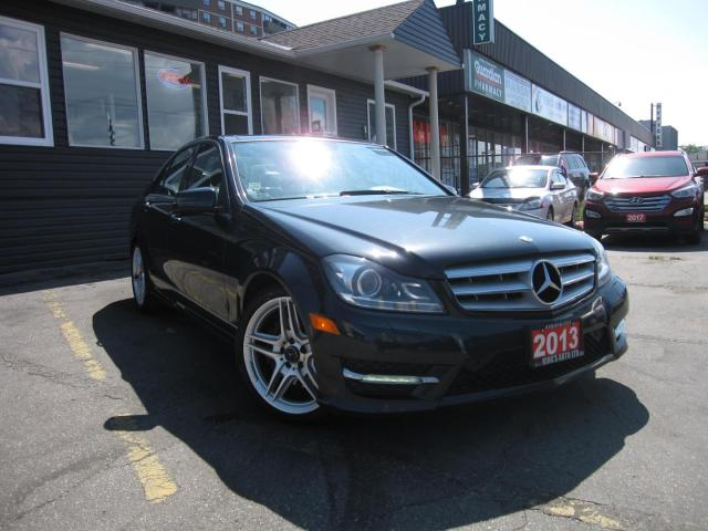 2013 Mercedes-Benz C-Class C350 4MATIC Sport ....... GPS NAVIGATION,SUNROOF,  HEATED SEATS, BACK UP CAMERA, LEATHER SEATS, WOODGRAIN INTERIOR