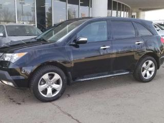 Used 2009 Acura MDX ELITE; FULLY LOADED, 7PASS, LEATHER, DVD, BACKUP CAM AND MORE for sale in Edmonton, AB