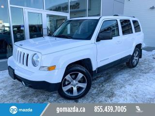 Used 2017 Jeep Patriot High Altitude Edition LEATHER SUNROOF 4X4 for sale in Edmonton, AB