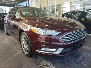 Used 2017 Ford Fusion SE, HEATED SEATS, REAR VIEW CAMERA, SUNROOF for sale in Edmonton, AB