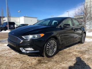 Used 2017 Ford Fusion SE/ALL WHEEL DRIVE/HEATED SEATS/NAVIGATION/BACK UP CAMERA for sale in Edmonton, AB