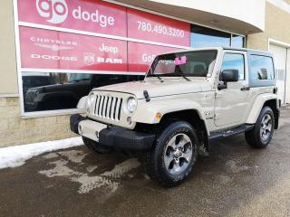Used 2018 Jeep Wrangler JK Sahara 4x4 / GPS Navigation for sale in Edmonton, AB