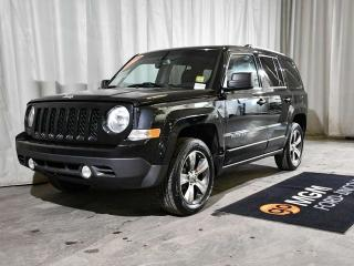 Used 2016 Jeep Patriot HIGH ALTITUDE 4X4 for sale in Red Deer, AB