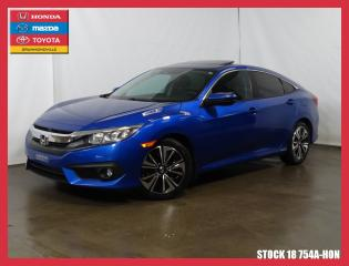 Used 2016 Honda Civic Ex-T+caméra+toit+siè for sale in Drummondville, QC