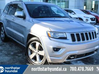 Used 2014 Jeep Grand Cherokee OVRLAND/V8/AIRRIDE/NAV/LEATHER for sale in Edmonton, AB