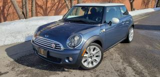 Used 2010 MINI Cooper Camden Edition - RARE / LOW KM'S / NO ACCIDENTS for sale in Etobicoke, ON