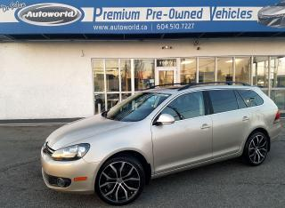 Used 2013 Volkswagen Golf Wagon HIGHLINE Nav , Pano Sunroof for sale in Langley, BC