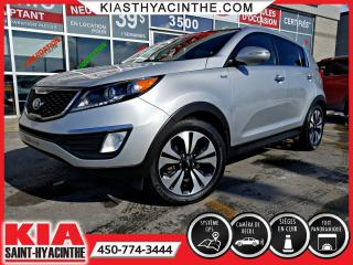Used 2013 Kia Sportage SX AWD ** TOIT PANO / NAVIGATION / CUIR for sale in St-Hyacinthe, QC