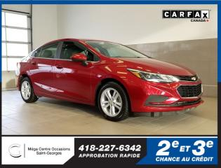 Used 2017 Chevrolet Cruze Lt / Turbo / 4g Lte for sale in St-Georges, QC