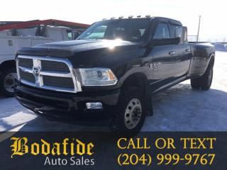Used 2014 RAM 3500 Longhorn Limited for sale in Headingley, MB