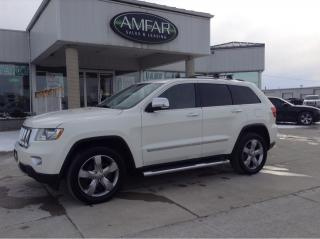 Used 2012 Jeep Grand Cherokee Overland / LOADED / NO PAYMENTS FOR 6 MONTHS !! for sale in Tilbury, ON
