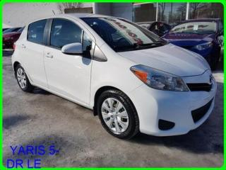 Used 2014 Toyota Yaris LE for sale in Longueuil, QC