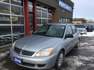 Used 2006 Mitsubishi Lancer ES for sale in Kitchener, ON