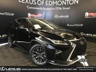Used 2017 Lexus RX 350 F Sport SERIES 2 for sale in Edmonton, AB