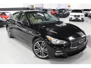 Used 2015 Infiniti Q50 3.7 LIMITED AWD   19 INCH WHEELS for sale in Vaughan, ON