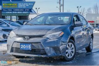 Used 2015 Toyota Corolla L for sale in Guelph, ON