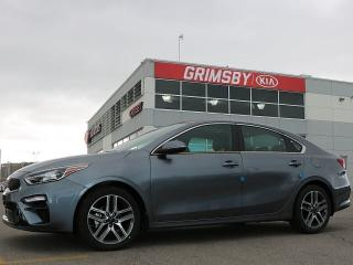 New 2019 Kia Forte EX LIMITED CVT| Leather| Sunroof| Navi for sale in Grimsby, ON