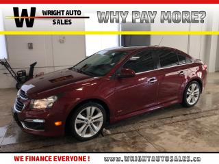 Used 2015 Chevrolet Cruze LTZ|NAVIGATION|LEATHER|SUNROOF|87,619 KM for sale in Cambridge, ON