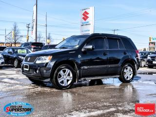 Used 2007 Suzuki Grand Vitara JLX-L 4x4 ~2.7L V6 ~Heated Leather ~Power Moonroof for sale in Barrie, ON