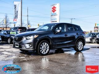 Used 2014 Mazda CX-5 GT AWD ~Nav ~Heated Leather ~Power Moonroof for sale in Barrie, ON