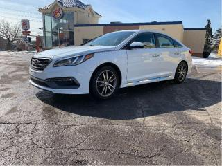 Used 2015 Hyundai Sonata SPORT 2.0T LEATHER/REAR CAMERA for sale in North York, ON