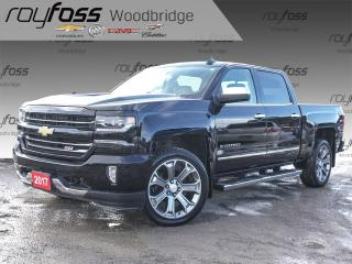 Used 2017 Chevrolet Silverado 1500 LTZ 2LZ NAV, SUNROOF, VENTED SEATS for sale in Woodbridge, ON