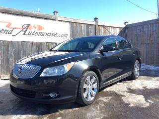 Used 2012 Buick LaCrosse Leather for sale in Stittsville, ON