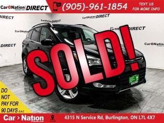 Used 2016 Ford Escape SE| 4X4| BACK UP CAMERA & SENSORS| for sale in Burlington, ON