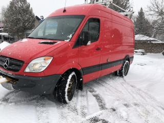Used 2011 Mercedes-Benz Sprinter 3500 highroof duel wheel reverse cam shop/ office on wheels for sale in Brampton, ON