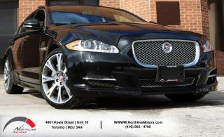 Used 2015 Jaguar XJ Premium Luxury|AWD|Navigation|Sunroof|Bakcup for sale in Toronto, ON