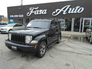 Used 2008 Jeep Liberty 4WD Sport North Edition for sale in Scarborough, ON