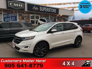 Used 2018 Ford Edge Sport  NAV PANO-ROOF CS 2X-P/SEAT MEM LEATH CAM P/GATE for sale in St. Catharines, ON