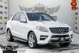 Used 2015 Mercedes-Benz ML-Class ML 350 BlueTEC, NAVI, PANO ROOF, 360 CAM, LEATHER/HEATED SEATS for sale in Toronto, ON
