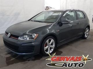 Used 2016 Volkswagen Golf GTI A/C for sale in Shawinigan, QC