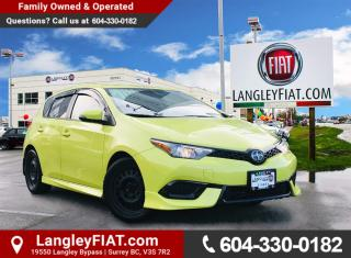 Used 2016 Scion iM Spacious Hatchback with Bluetooth and Back-Up Camera! No Accidents! for sale in Surrey, BC