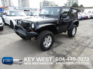 Used 2013 Jeep Wrangler Sport 4WD Convertible *No Accidents* for sale in New Westminster, BC
