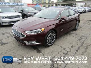 Used 2018 Ford Fusion Hybrid Titanium Sunroof Leather Nav Cam Sync 3 for sale in New Westminster, BC