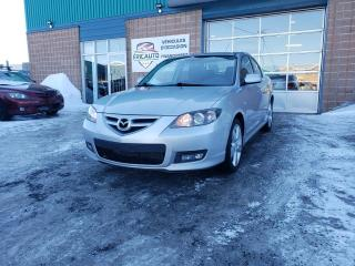 Used 2007 Mazda MAZDA3 GT for sale in St-Eustache, QC
