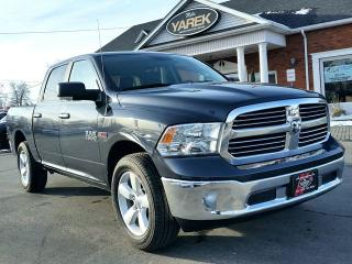 Used 2018 RAM 1500 SLT 4x4 DIESEL, Leather Heated Seats/Wheel, NAV, Back Up Cam, Remote Start for sale in Paris, ON