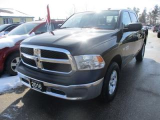 Used 2016 Dodge Ram 1500 WORK READY SLT MODEL 6 PASSENGER 5.7L - HEMI.. 4X4.. CREW.. SHORTY.. TRAILER BRAKE.. AUX/USB INPUT.. BLUETOOTH SYSTEM.. for sale in Bradford, ON