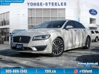 Used 2017 Lincoln MKZ Select Hybrid for sale in Thornhill, ON