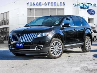 Used 2015 Lincoln MKX for sale in Thornhill, ON