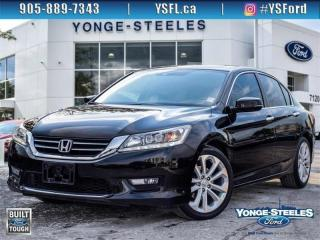 Used 2015 Honda Accord Sedan Touring for sale in Thornhill, ON